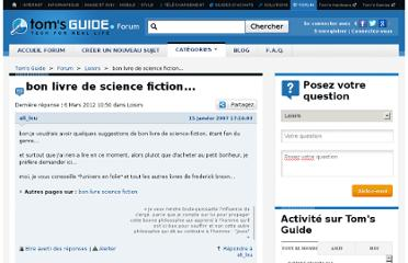 http://discussions.tomsguide.fr/forum/id-689797/bon-livre-science-fiction.html