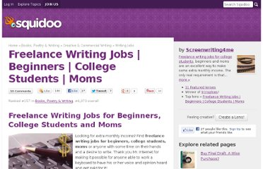 http://www.squidoo.com/freelance-writing-jobs-beginners