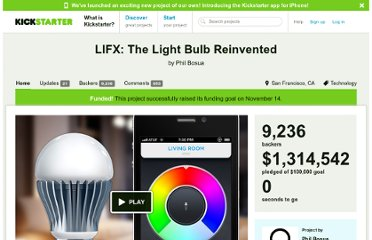 http://www.kickstarter.com/projects/limemouse/lifx-the-light-bulb-reinvented