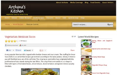 http://www.archanaskitchen.com/world-recipes/mexican-cuisine/113-tacos