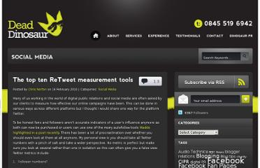 http://www.deaddinosaur.co.uk/social-media/the-top-ten-retweet-measurement-tools/