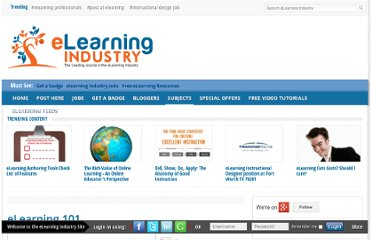 http://elearningindustry.com/subjects/concepts/item/260-introduction-to-elearning-101