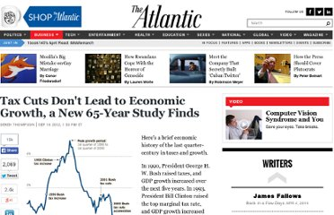 http://www.theatlantic.com/business/archive/2012/09/tax-cuts-dont-lead-to-economic-growth-a-new-65-year-study-finds/262438/