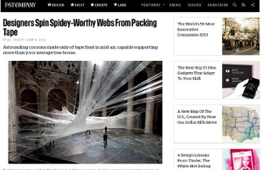 http://www.fastcompany.com/1656197/designers-spin-spidey-worthy-webs-packing-tape