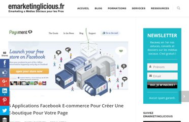 http://www.emarketinglicious.fr/social-media/5-applications-facebook-e-commerce-pour-creer-une-e-boutique-pour-votre-page
