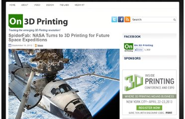 http://on3dprinting.com/2012/09/16/spiderfab-nasa-turns-to-3d-printing-for-future-space-expeditions/