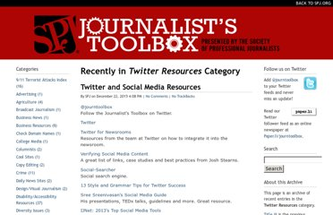 http://www.journaliststoolbox.org/archive/twitter-resources/