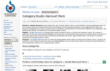 http://commons.wikimedia.org/wiki/Category:Studio_Harcourt_Paris?uselang=fr