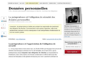 http://www.donneespersonnelles.fr/jurisprudence-et-obligation-de-securite-des-donnees-personnelles