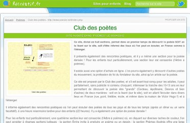 http://recreatif.fr/poemes/club-des-poetes