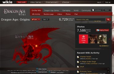 http://dragonage.wikia.com/wiki/Dragon_Age:_Origins