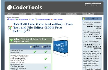 http://www.codertools.com/totaledit.aspx