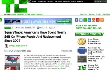 http://techcrunch.com/2012/09/18/squaretrade-americans-have-spent-nearly-6b-on-iphone-repair-and-replacement-since-2007/