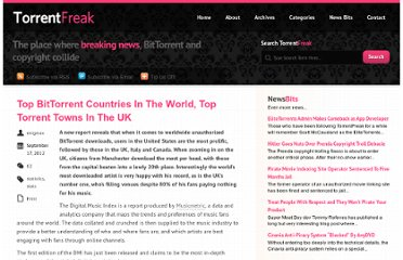 http://torrentfreak.com/top-bittorrent-countries-in-the-world-top-torrent-towns-in-the-uk-120917/
