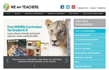 http://www.weareteachers.com/homepage