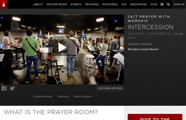 http://www.ihopkc.org/prayerroom/