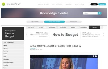 http://www.learnvest.com/knowledge-center/a-ted-talk-by-learnvest-5-financial-rules-to-live-by/