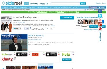 http://www.sidereel.com/Arrested_Development