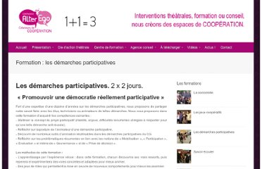 http://www.compagnie-alterego.com/formation-les-demarches-participatives/