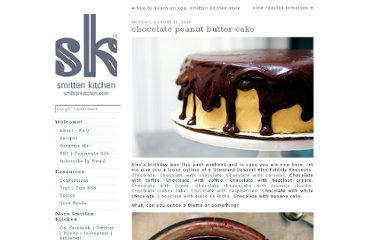 http://smittenkitchen.com/blog/2008/08/chocolate-peanut-butter-cake/