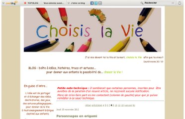 http://choisislavie.over-blog.fr/49-index.html