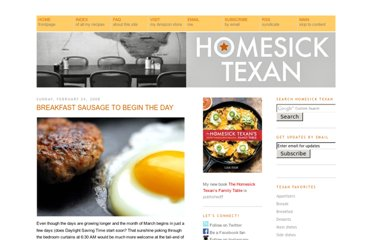 http://homesicktexan.blogspot.com/2008/02/breakfast-sausage-to-begin-day.html
