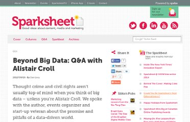 http://sparksheet.com/beyond-big-data-qa-with-alistair-croll/