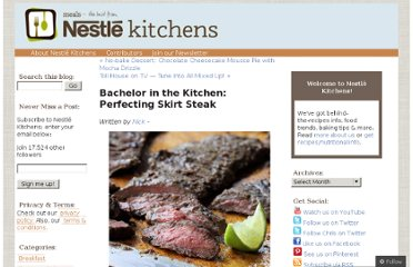 http://nestleusa.wordpress.com/2012/09/02/bachelor-in-the-kitchen-perfecting-skirt-steak/
