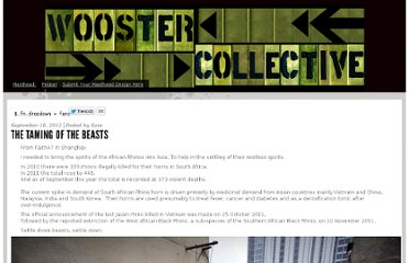 http://www.woostercollective.com/post/the-taming-of-the-beasts