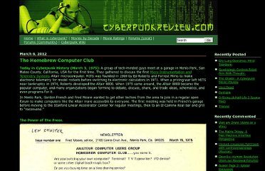 http://www.cyberpunkreview.com/cyberpunk-history/the-homebrew-computer-club/