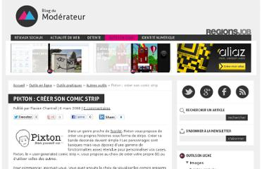 http://www.blogdumoderateur.com/pixton-creer-son-comic-strip/