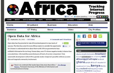 http://www.oafrica.com/ict-policy/open-data-for-africa/