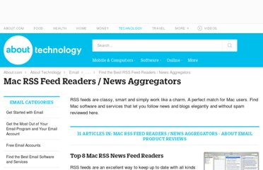 http://email.about.com/od/rssreadersmac/Mac_RSS_Feed_Readers_News_Aggregators.htm