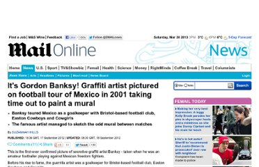 http://www.dailymail.co.uk/news/article-2204646/Banksy-Graffiti-artist-pictured-football-tour-Mexico-2001-taking-time-paint-mural.html