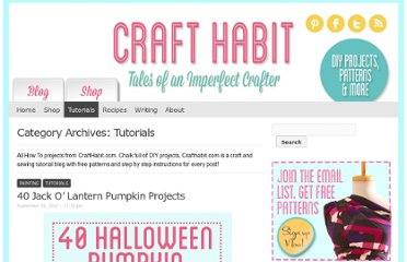 http://www.crafthabit.com/category/tutorials/page/2/