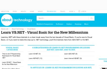 http://visualbasic.about.com/od/learnvbnet/Learn_VBNET_Visual_Basic_for_the_new_millenium.htm