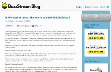 http://www.buzzstream.com/blog/is-division-of-labour-the-key-to-scalable-link-building.html