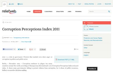 http://reliefweb.int/report/world/corruption-perceptions-index-2011