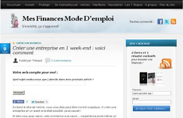http://www.mes-finances-mode-demploi.fr/investir-2/creer-son-business/creer-une-entreprise-en-1-week-end-voici-comment/