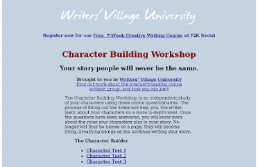 http://www.writersvillage.com/character/index.htm