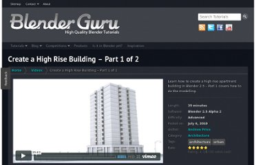 http://www.blenderguru.com/videos/high-rise-building/