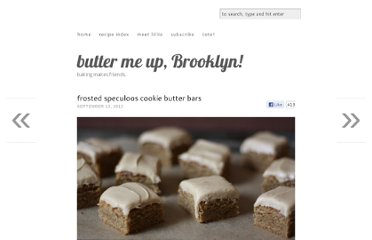 http://buttermeupbrooklyn.com/2012/09/frosted-speculoos-cookie-butter-bars/
