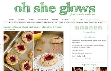 http://ohsheglows.com/2012/05/02/raspberry-almond-thumbprint-cookies-gluten-free-vegan/