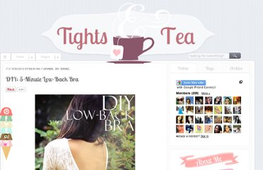 http://www.tightsandtea.com/2012/03/diy-5-minute-low-back-bra.html