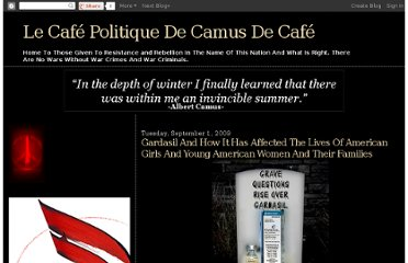 http://lecafpolitiquedecamusdecaf.blogspot.com/2009/09/gardasil-and-how-it-has-affected-lives.html