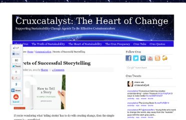 http://www.cruxcatalyst.com/2012/09/20/secrets-of-successful-storytelling/
