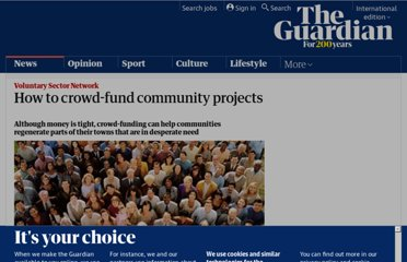 http://www.guardian.co.uk/voluntary-sector-network/2012/mar/07/crowd-funding-community-projects