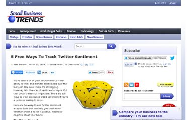 http://smallbiztrends.com/2010/03/tracking-twitter-sentiment.html