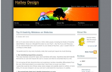 http://duncanhalley.co.uk/blog/post/Top-8-Usability-Mistakes-on-Websites.aspx