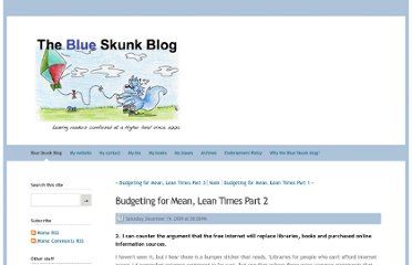 http://doug-johnson.squarespace.com/blue-skunk-blog/2009/12/19/budgeting-for-mean-lean-times-part-2.html
